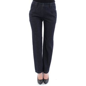 D10549-1 Dolce & Gabbana Blue Cotton Jeans Pants